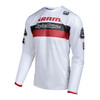 Troy Lee Designs Sprint Air SRAM TLD jersey lange mouwen Heren Racing rood/wit